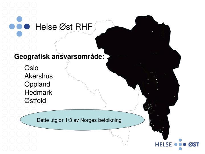 Helse Øst RHF