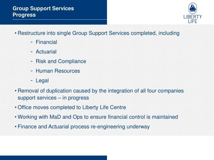 Group Support Services
