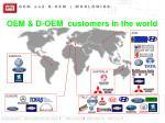 oem and d oem worldwide
