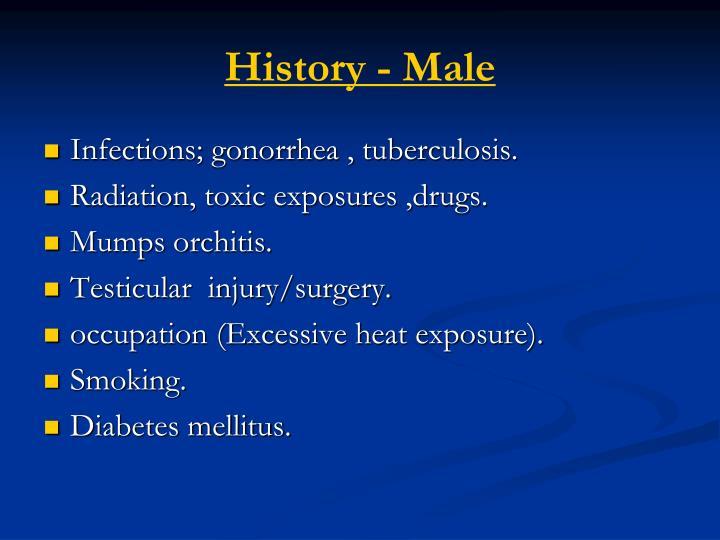 History - Male