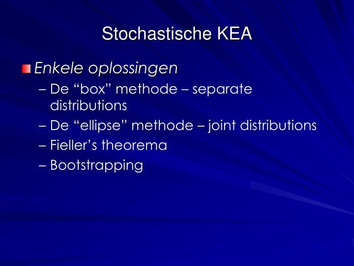 Stochastische KEA