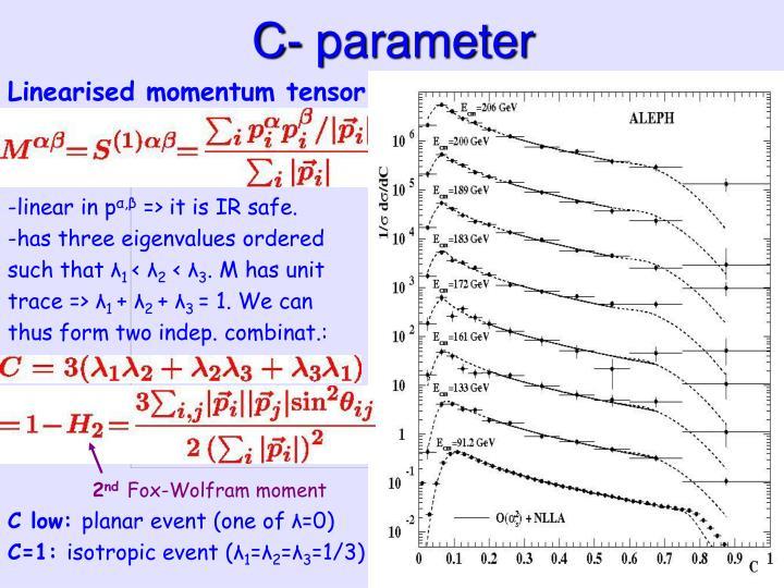 C- parameter