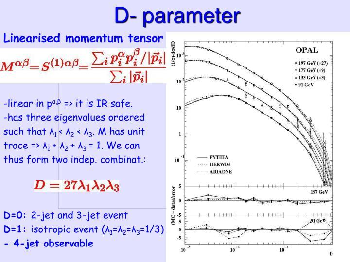 D- parameter