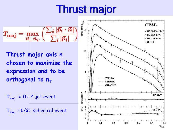 Thrust major
