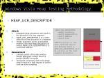 windows vista heap testing methodology3