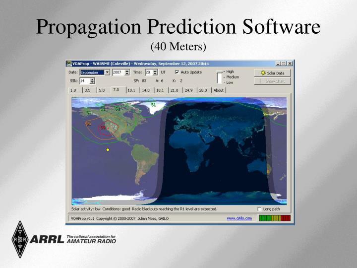 Propagation Prediction Software