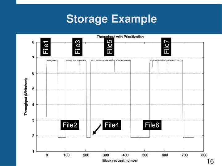Storage Example