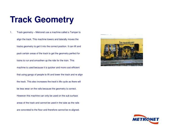 Track Geometry