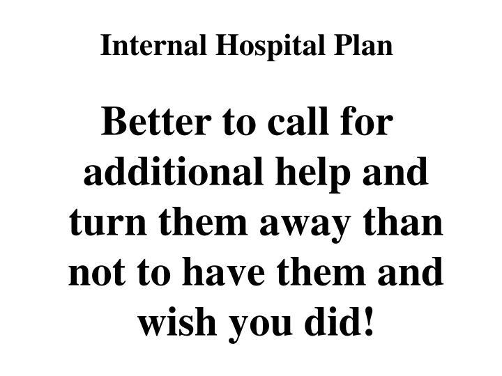 Internal Hospital Plan