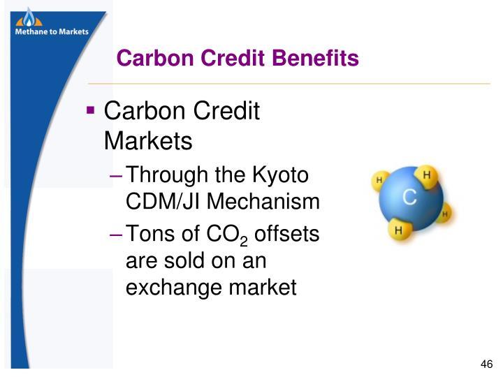 Carbon Credit Benefits