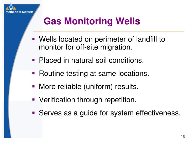 Gas Monitoring Wells