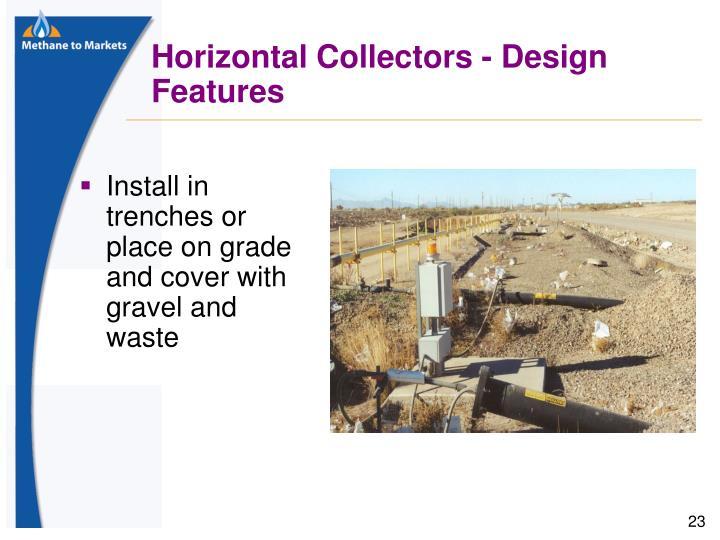 Horizontal Collectors - Design Features