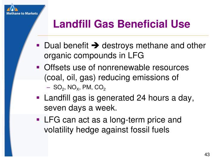 Landfill Gas Beneficial Use