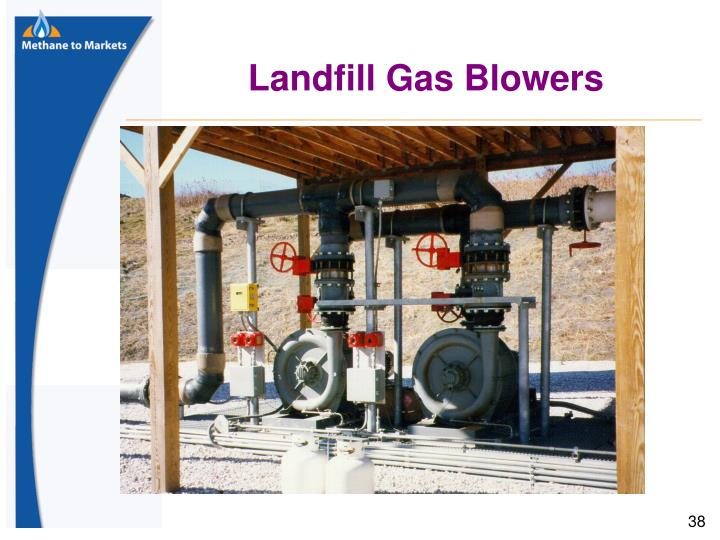 Landfill Gas Blowers