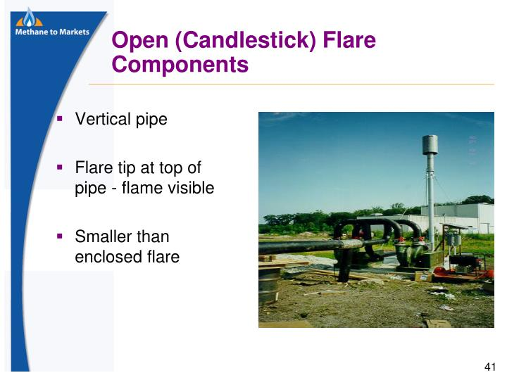 Open (Candlestick) Flare Components