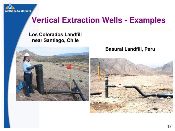 Vertical Extraction Wells - Examples
