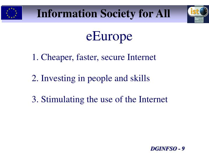Information Society for All