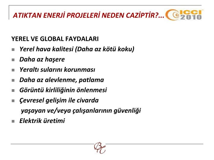 ATIKTAN ENERJİ PROJELERİ NEDEN CAZİPTİR?...