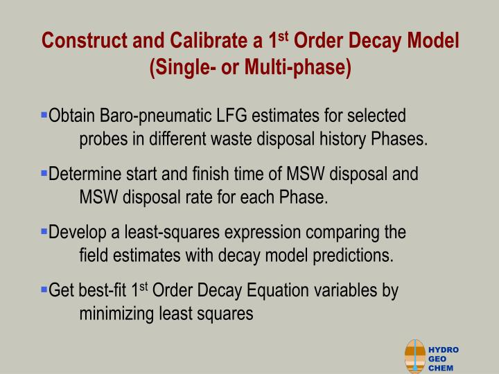 Construct and Calibrate a 1