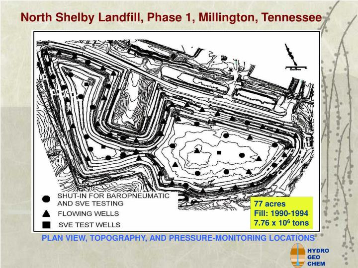 North Shelby Landfill, Phase 1, Millington, Tennessee