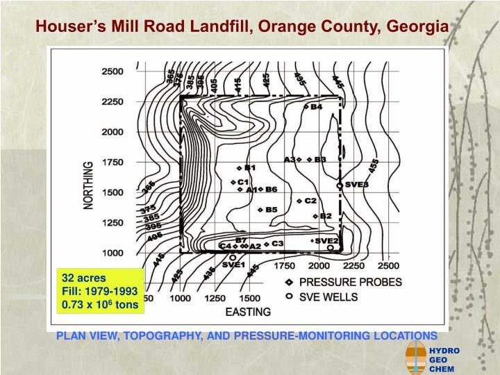 Houser's Mill Road Landfill, Orange County, Georgia