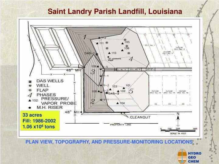 Saint Landry Parish Landfill, Louisiana