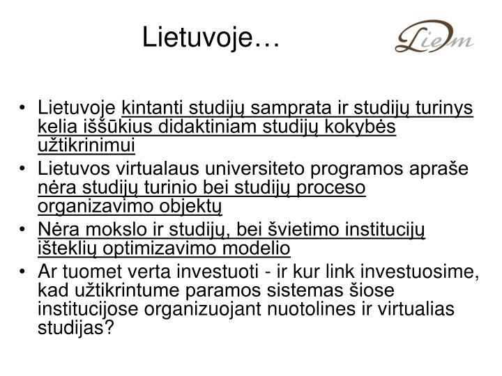 Lietuvoje