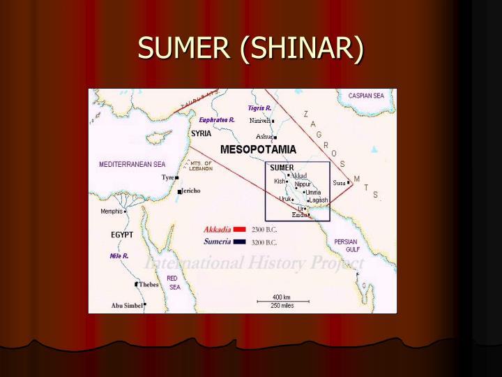 SUMER (SHINAR)