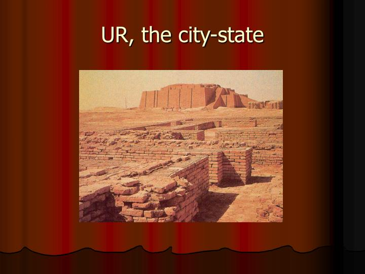 UR, the city-state