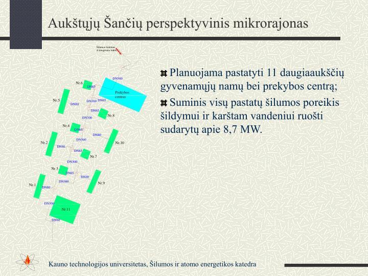 Aukštųjų Šančių perspektyvinis mikrorajonas