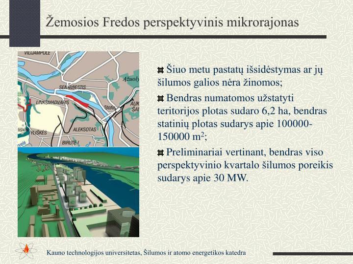 Žemosios Fredos perspektyvinis mikrorajonas