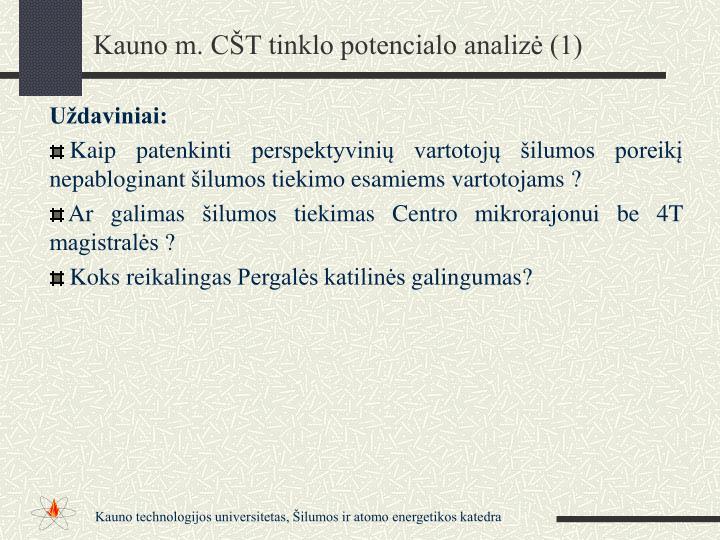 Kauno m. CŠT tinklo potencialo analizė (1)