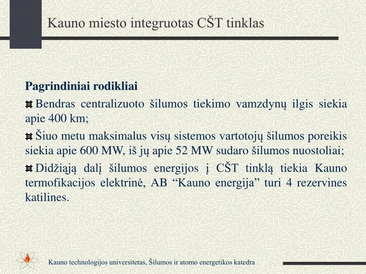 Kauno miesto integruotas CŠT tinklas