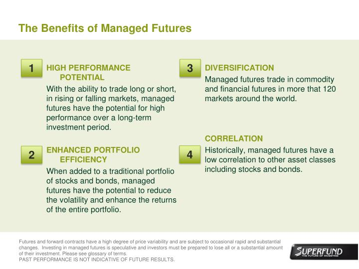 The Benefits of Managed Futures