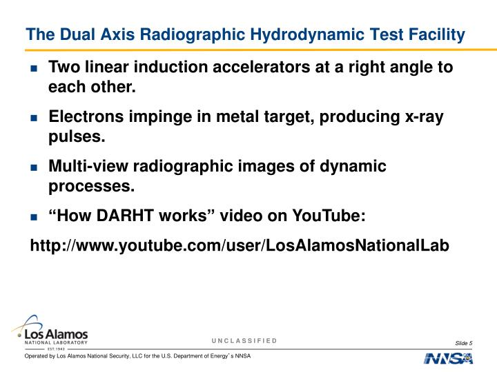 The Dual Axis Radiographic Hydrodynamic Test Facility