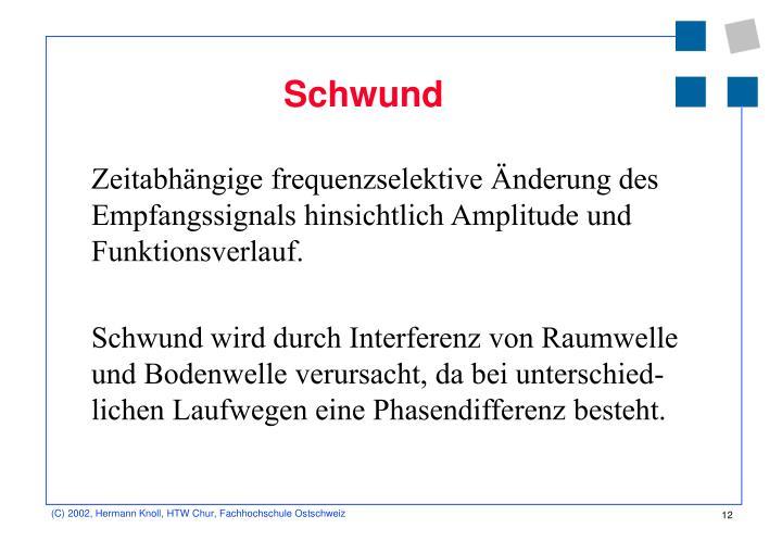 Schwund