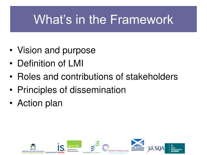 What's in the Framework