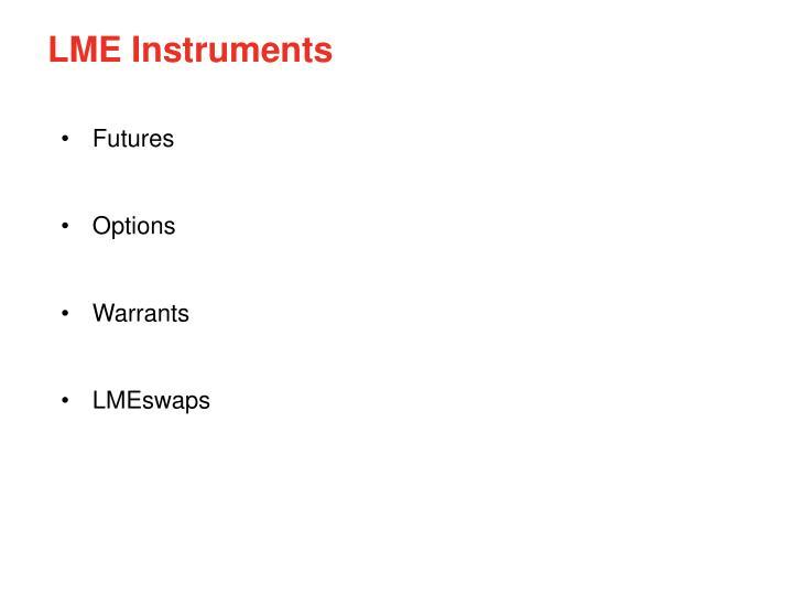 LME Instruments