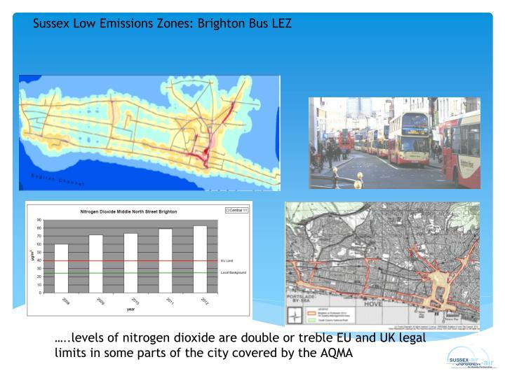 Sussex Low Emissions Zones: Brighton Bus LEZ