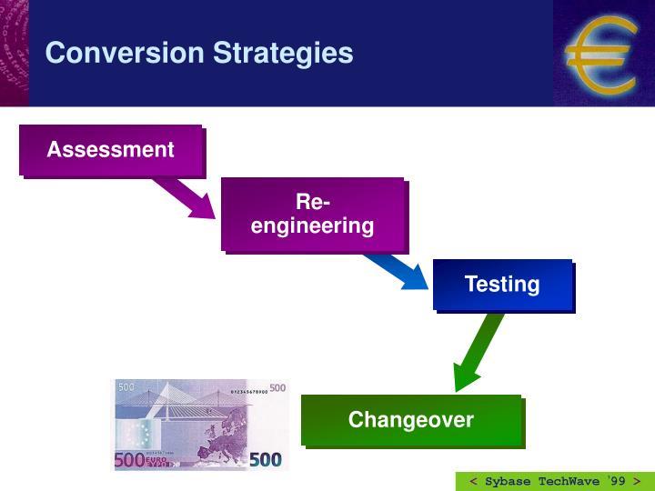Conversion Strategies