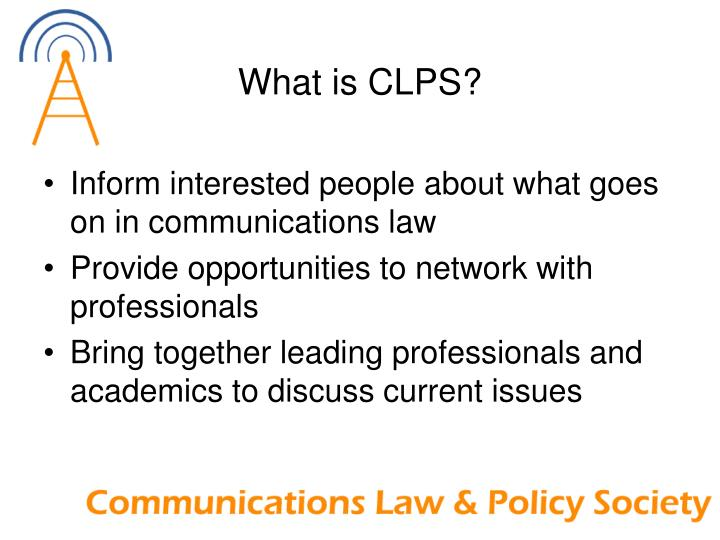 What is CLPS?
