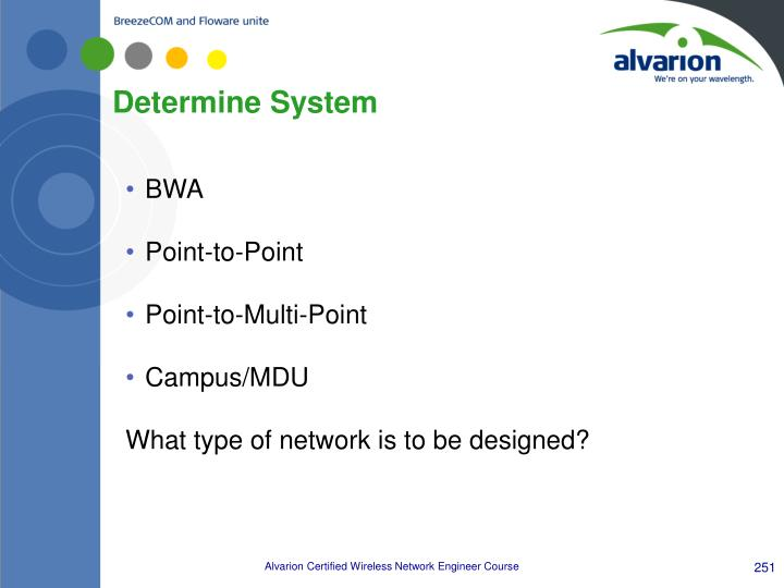 Determine System
