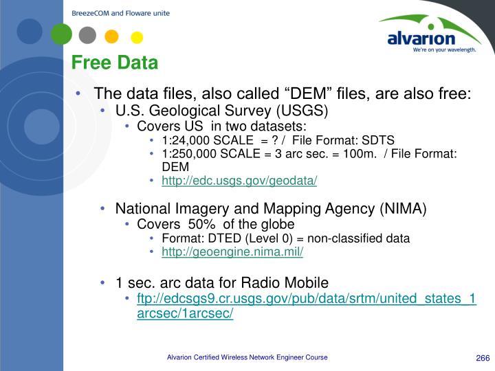 Free Data
