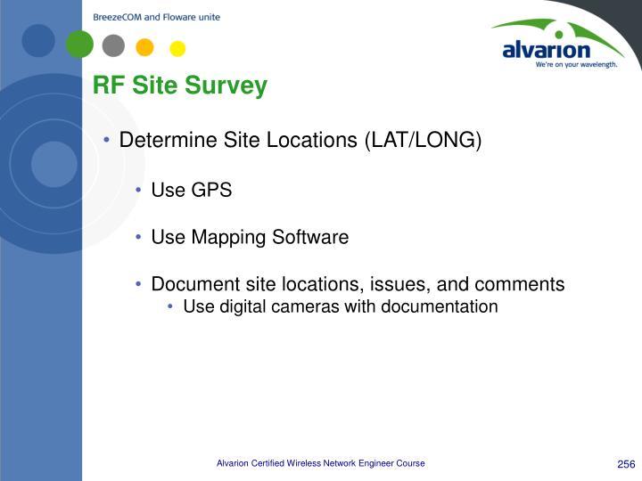 RF Site Survey