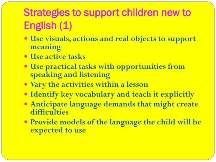 Strategies to support children new to English (1)