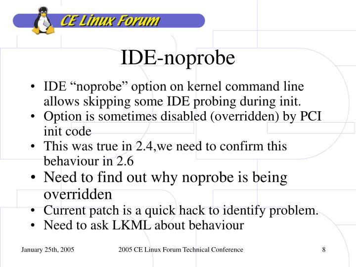 IDE-noprobe