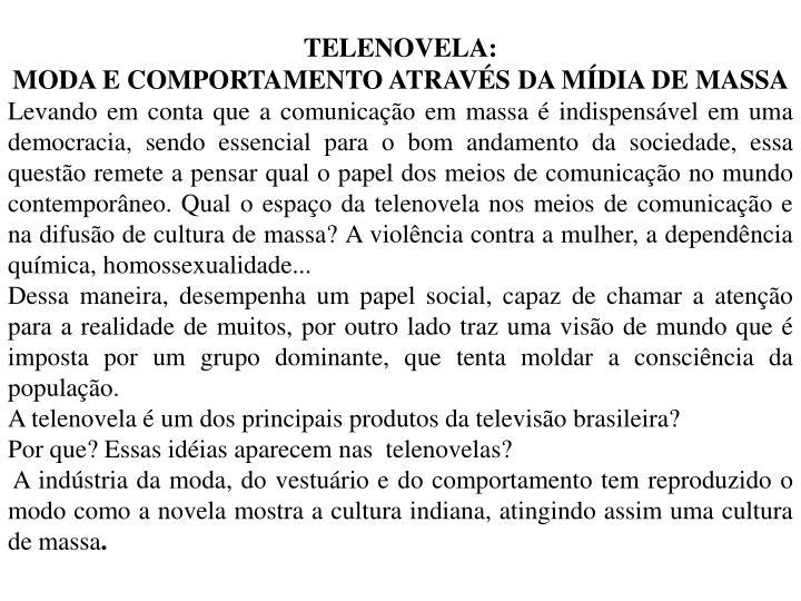 TELENOVELA: