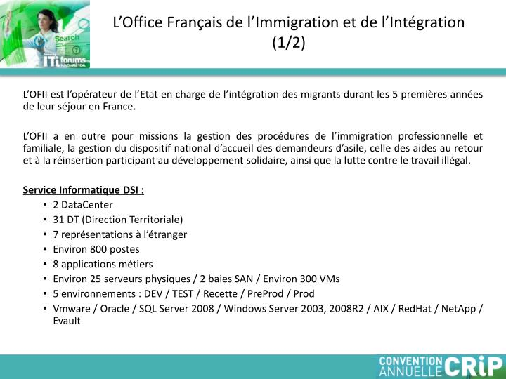 L office fran ais de l immigration et de l int gration 1 2