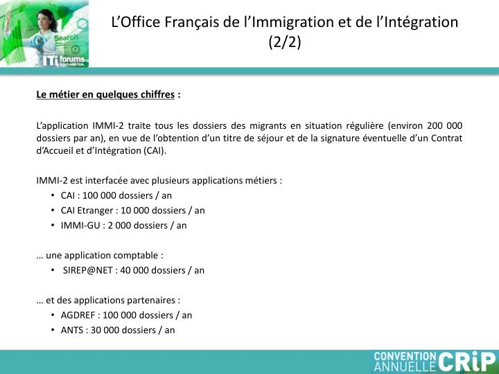 L office fran ais de l immigration et de l int gration 2 2