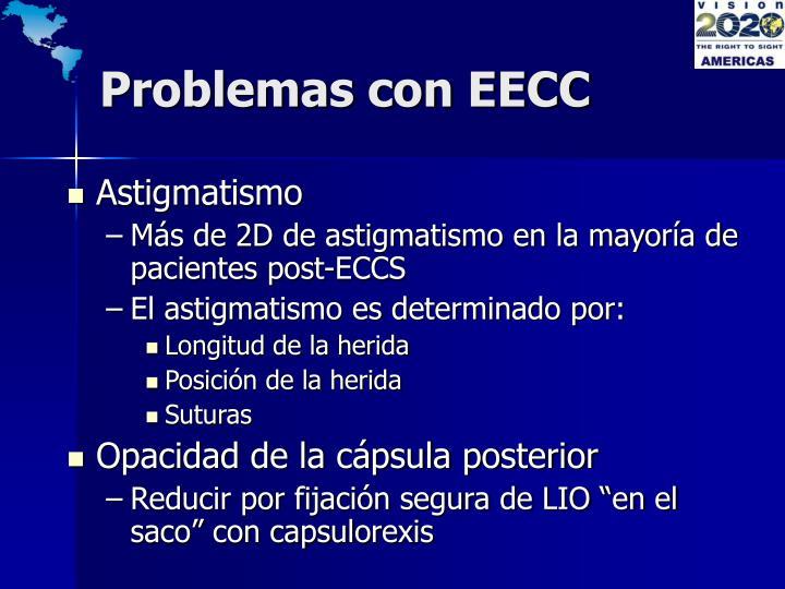 Problemas con EECC